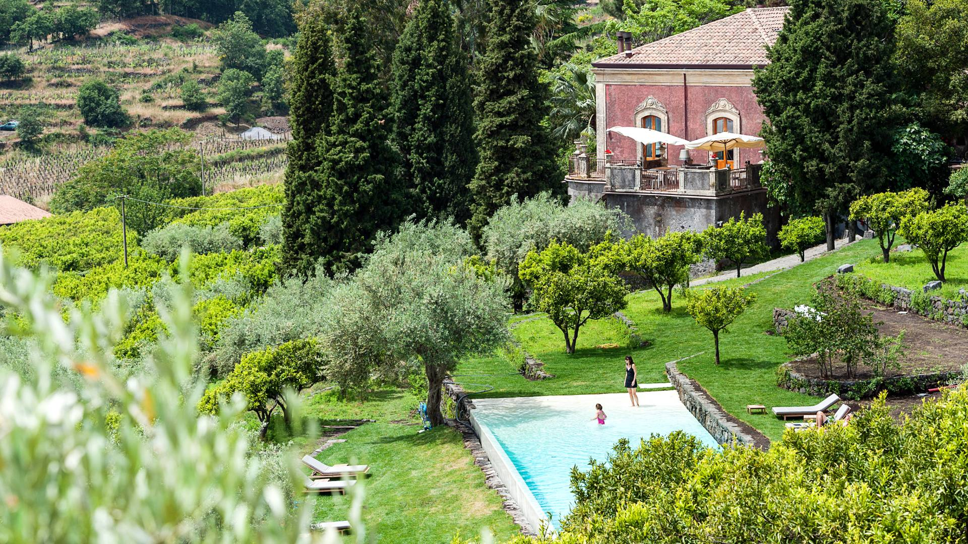 A country retreat in the foothills of Mount Etna